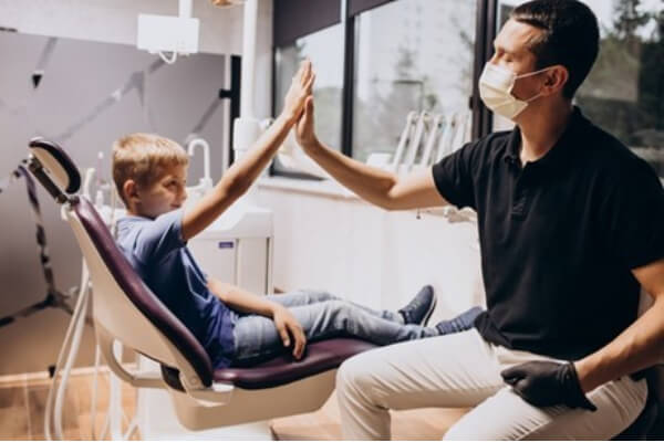 childs first dental visit